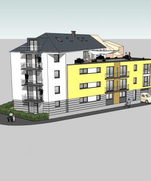 Résidence à appartement  –  Prix entre 137.808€ et 382.425€