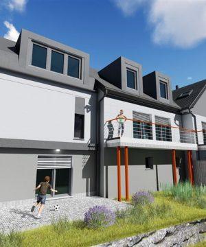 Maison unifamiliale 3 façades – 475.000€