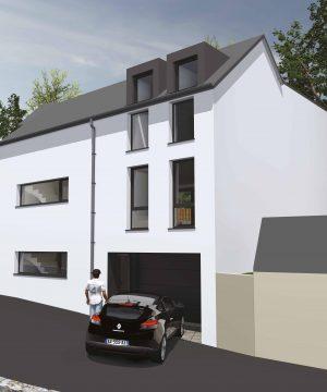 Maison unifamiliale 4 façades – Vendu